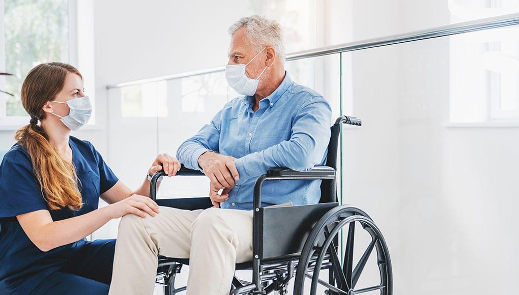 Altenpflege und Covid-19