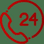 24h Erreichbarkeit