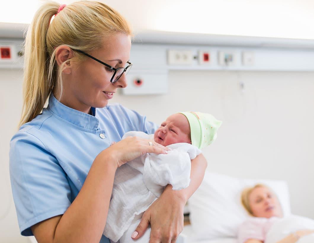Jobs als Hebamme oder Entbindungspfleger